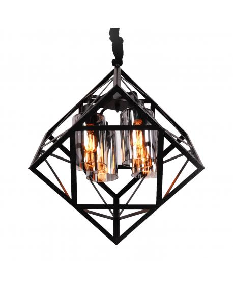 Подвесной светильник Lumina Deco Brutte LDP 11339-4 BK