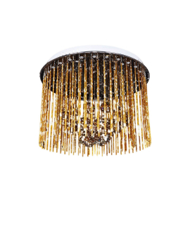 Хрустальная потолочная люстра Lumina Deco SOFT LINE LDC 7102-450 GD