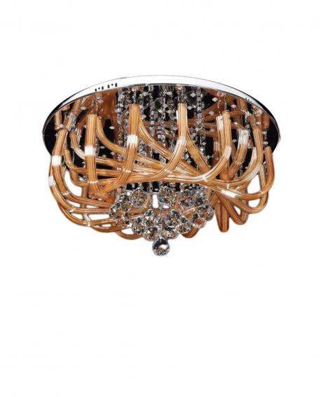 Хрустальная потолочная люстра Lumina Deco Maestus LDC 9808-450
