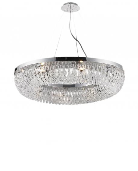 Хрустальная подвесная люстра Lumina Deco Boguart LDP 7027-8