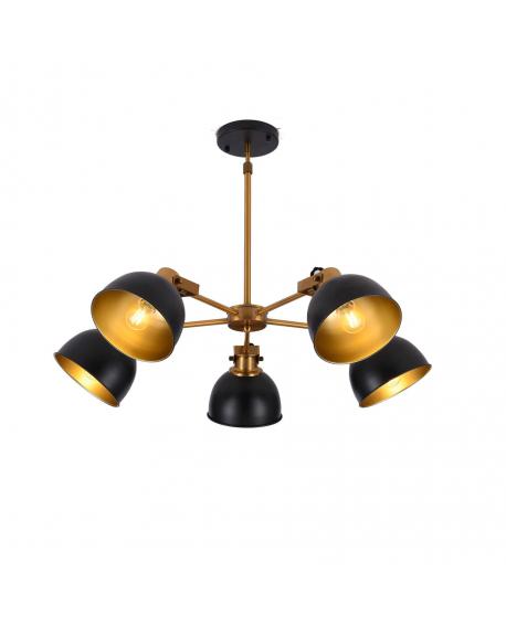 Подвесной светильник Lumina Deco Belmonti LDP D017-5 BK