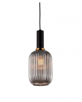 Подвесной светильник Lumina Deco Rico LDP 1218 GY+BK