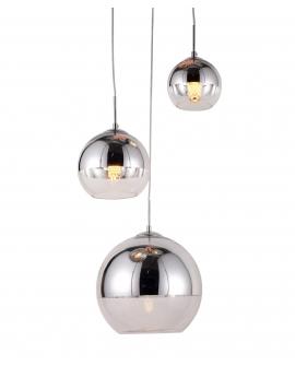 Подвесной светильник Lumina Deco Veroni LDP 1029-3 CHR