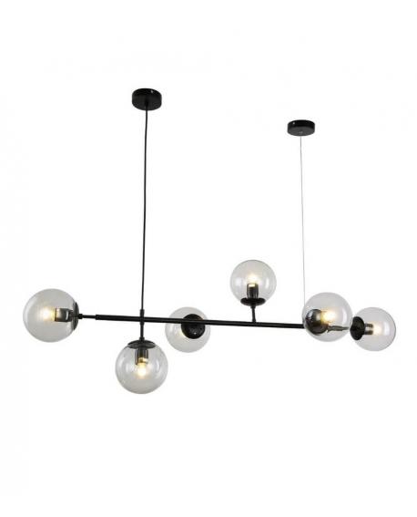 Подвесной светильник Lumina Deco Ceredo LDP 6034-6 BK