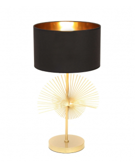 Настольная лампа Lumina Deco Fonti LDT 5534 GD+BK