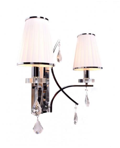 Бра Lumina Deco Glamour LDW 66247-2 WT+CHR