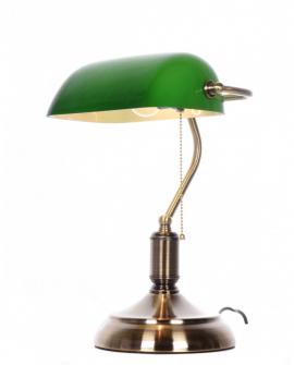 Настольная лампа Lumina Deco Banker LDT 305 GR