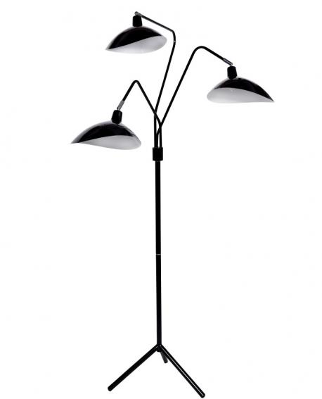 Торшер Lumina Deco Adarrio LDF 511-3 BK