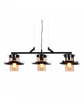 Подвесной светильник Lumina Deco Capri LDP 11328-3 PR BK