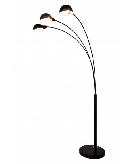 Торшер Lumina Deco Wallscot LDF 8801-3 BK