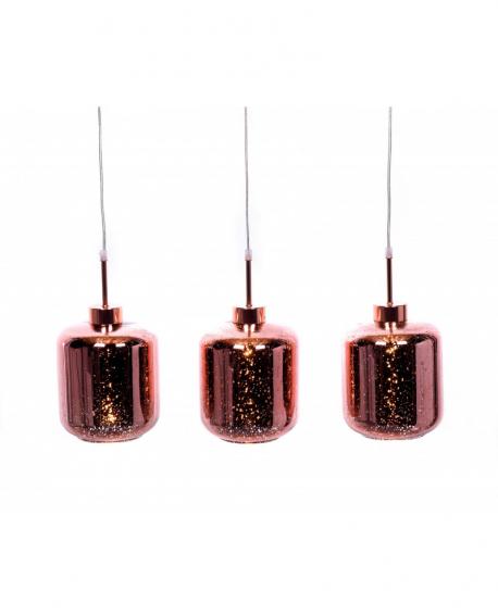 Подвесной светильник Lumina Deco Alacosmo LDP 6811-3 R.GD