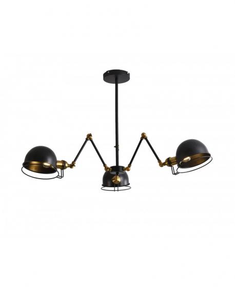 Подвесной светильник Lumina Deco Valmonti LDP D015-3 BK