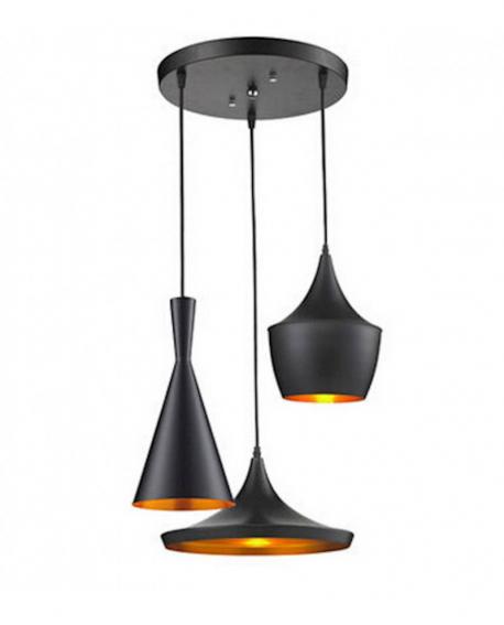 Подвесной светильник Lumina Deco Foggi LDP 7712-3 BK