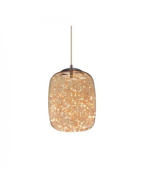 Подвесной светильник Lumina Deco Daisy LDP 6824-220 CHR+AMB